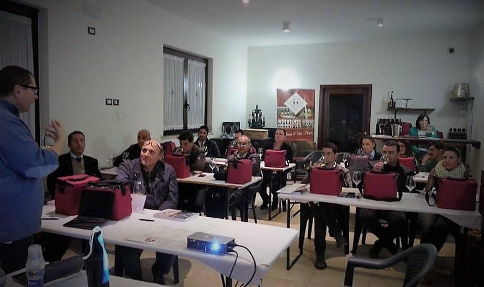 corso assaggiatori di vino ortanova - onav - tenuta casa della posta - 2